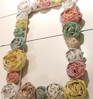 Newspaper Rose Wreath