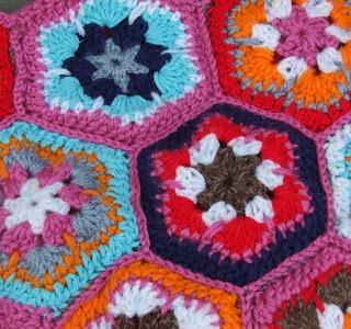 African Flower Bag for my Elle