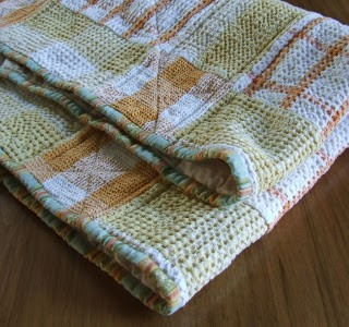 Quilted Tea Towel Table Topper