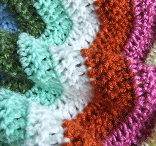 In the Making: Crochet Ripple Throw Part 2