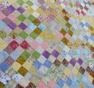 Blogger's Quilt Festival Entry: So Early in the Morning