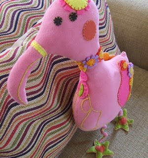 Have you seen this flamingo?