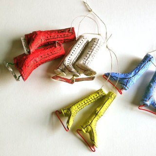 Series 7 – Ornament-ED: Twiggy Skate Ornaments