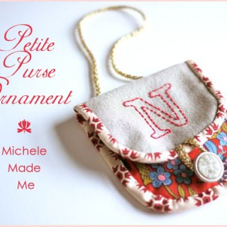 Haul Out The Holly: Petite Purse Ornament