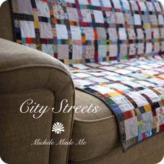 Quilt Finish: City Streets