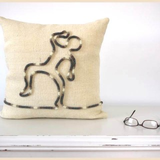 "Corked Cushion ""Safe To Dance"""