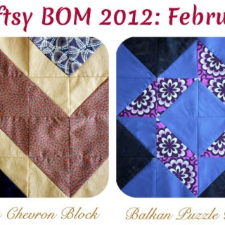 Craftsy's Block of The Month: February