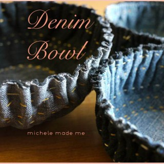 Denim Bowl PDF Tutorial in The Shop!