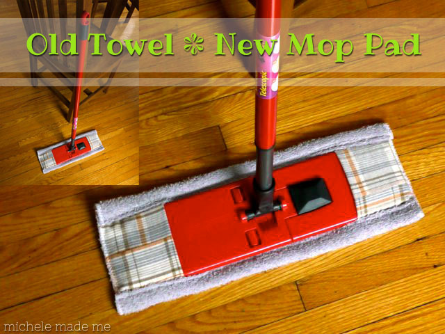 Series Old Towel New Mop Pad Michele Made