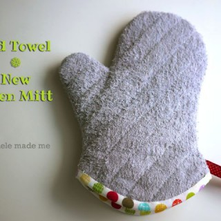 Series 9: Old Towel New – Oven Mitt