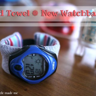 Series 9: Old Towel New – Soft Watchband