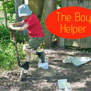 The Boy's Tree Fort Project: Part 1
