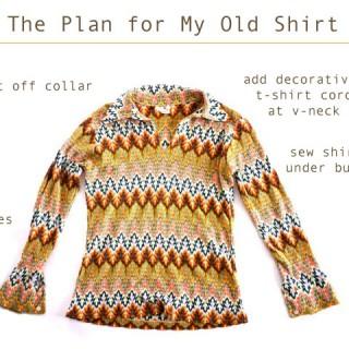 A Gentle Old Shirt Refashion