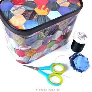 Mod Podged Hexie-Making Kit