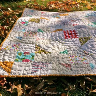 Quilty Gift Finish: Baby Shoo-Fly