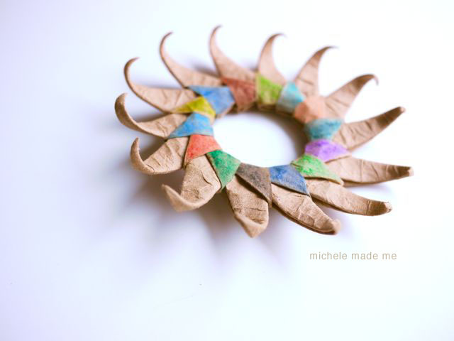 Reader Question How Do You Make That Paper Sun Michele Made Me