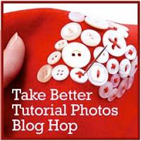 Take Better Tutorial Photos Blog Hop