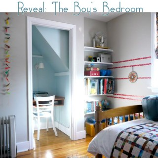 Reveal: The Boy's Bedroom