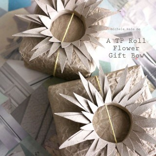 Video Tutorial: TP Roll Flower Gift Bow