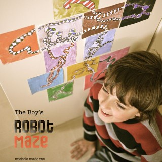 Kid Craft: The Boy's Robot Maze