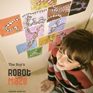 Kid Craft: The Boy's Robot Maze