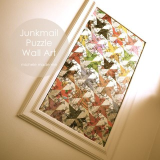 Junkmail Puzzle Wall Art