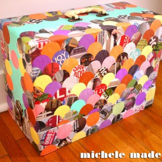 Retro-Groovy Sewing Machine Cover Revamp