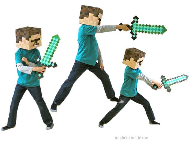 The Boy as Minecraftu0027s u201cSteveu201d  sc 1 st  Michele Made Me & The Boy as Minecraftu0027s