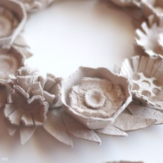 Ahhh, Egg Carton Wreath…