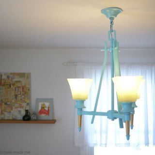 Happy Chandelier Makeover