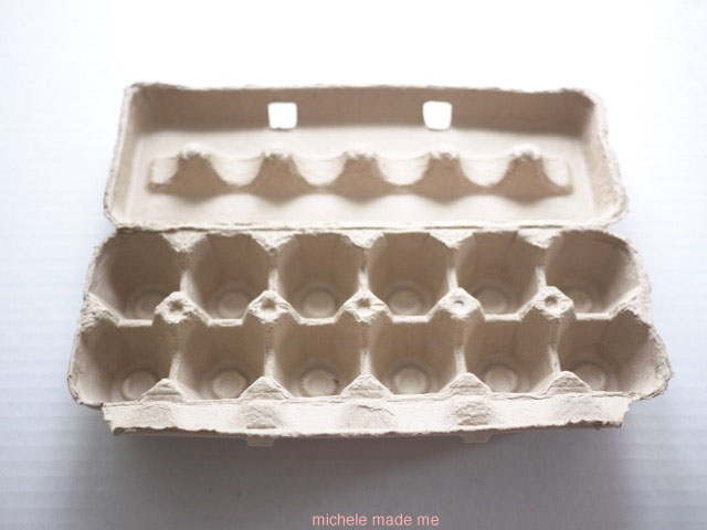 Egg carton required for Egg Carton Super Chick @ Michele Made Me