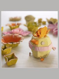 Button Egg Carton Super Chick Michele Made Me