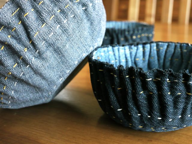 Denim Bowls Michele Made Me
