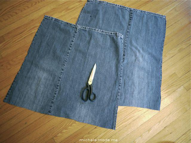 Prepare the jeans Michele Made Me