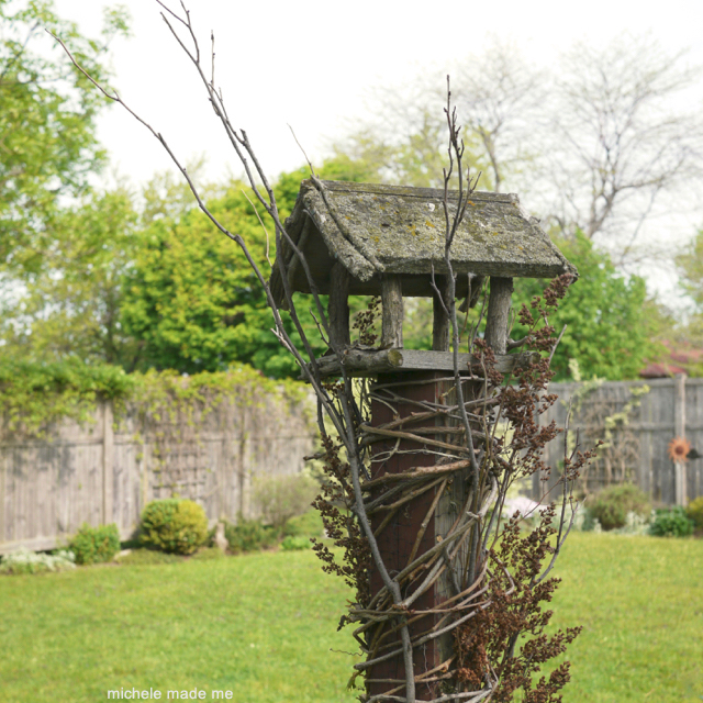 Bird House Gazebo 1 Michele Made Me
